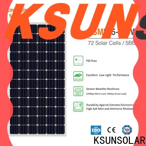 KSUNSOLAR Latest solar panel suppliers factory For photovoltaic power generation