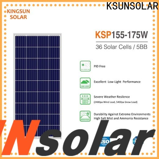 KSUNSOLAR solar power solar panels Suppliers for Environmental protection