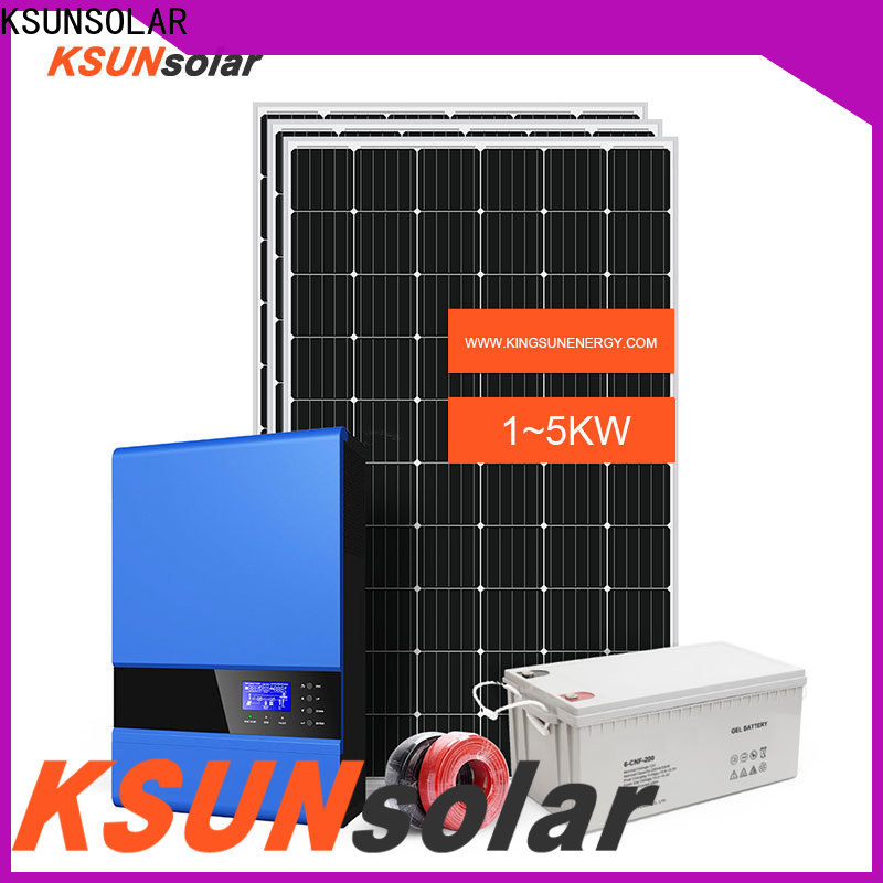Top off-grid solar power system for business For photovoltaic power generation
