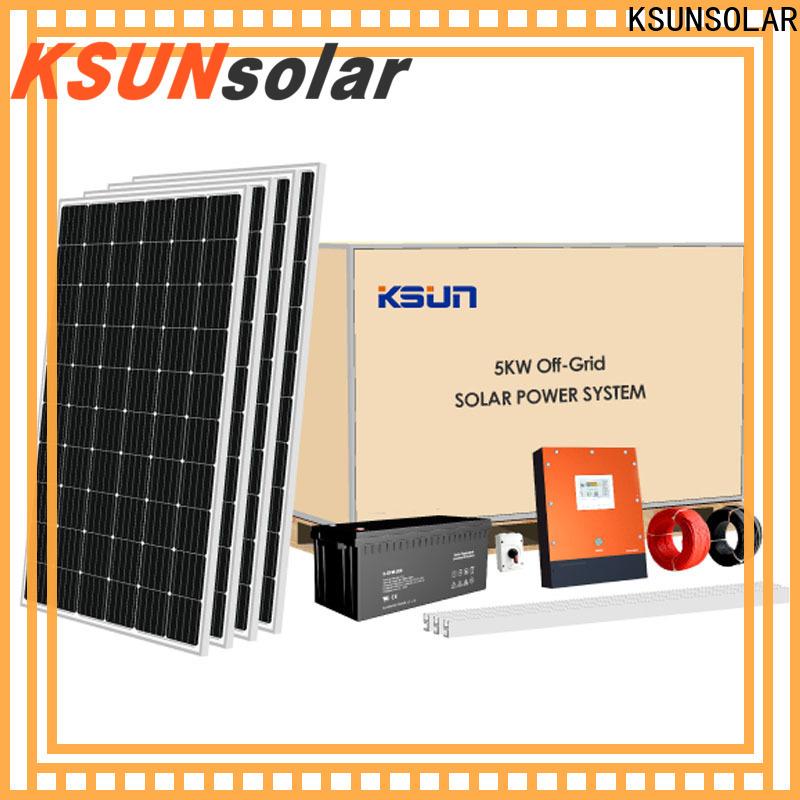 KSUNSOLAR Best solar equipment for sale for Power generation
