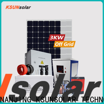 High-quality off grid solar panel system Suppliers for powered by