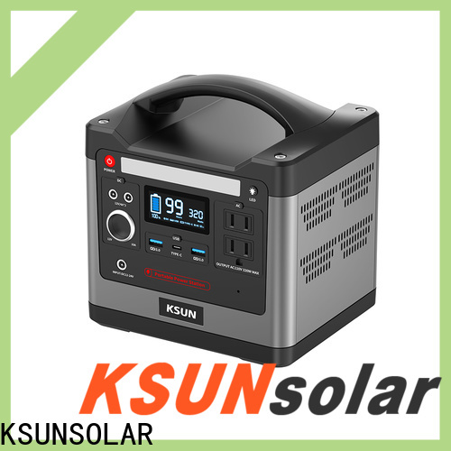 KSUNSOLAR Latest solar powered generator Suppliers for Power generation