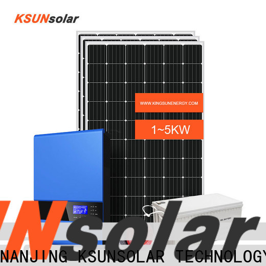 High-quality off grid solar panel kits for business for Environmental protection
