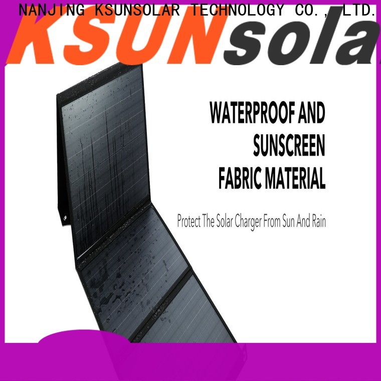 KSUNSOLAR best foldable solar panel manufacturers for Power generation