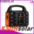KSUNSOLAR rechargeable portable power generator for Environmental protection