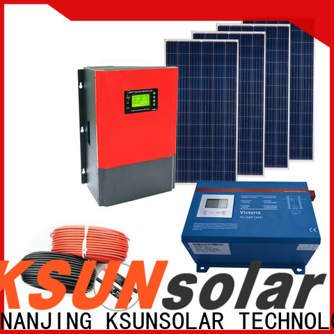 High-quality off grid solar panel kits for sale for business for Environmental protection