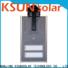 KSUNSOLAR Custom solar street light system manufacturers for powered by