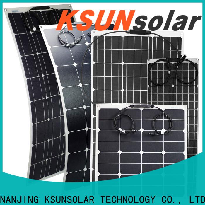 KSUNSOLAR flexible solar panels wholesale for Environmental protection