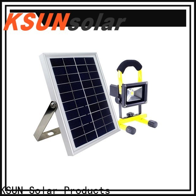 KSUNSOLAR super bright solar flood lights manufacturers for powered by
