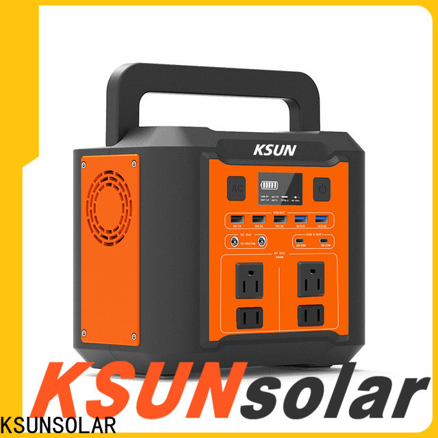KSUNSOLAR portable power station solar generator factory for Energy saving