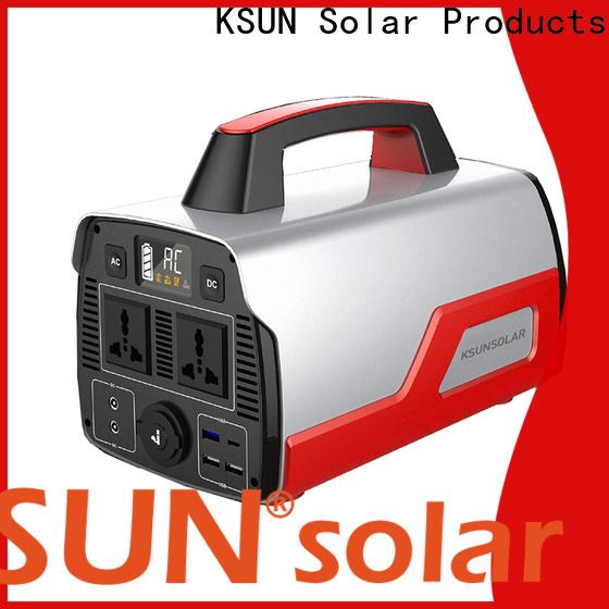 KSUNSOLAR portable power station generator manufacturers for Energy saving