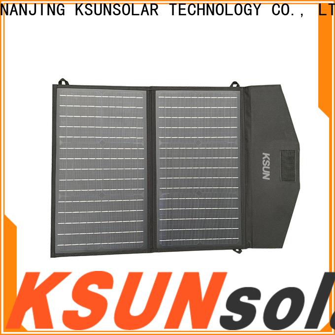 KSUNSOLAR best folding solar panels manufacturers for Environmental protection