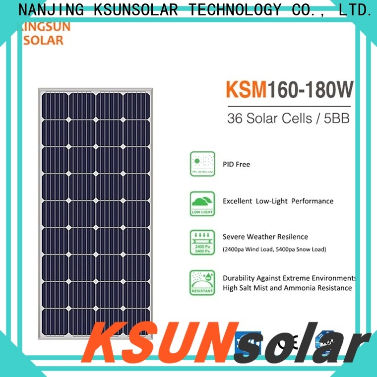 KSUNSOLAR photovoltaic module company For photovoltaic power generation