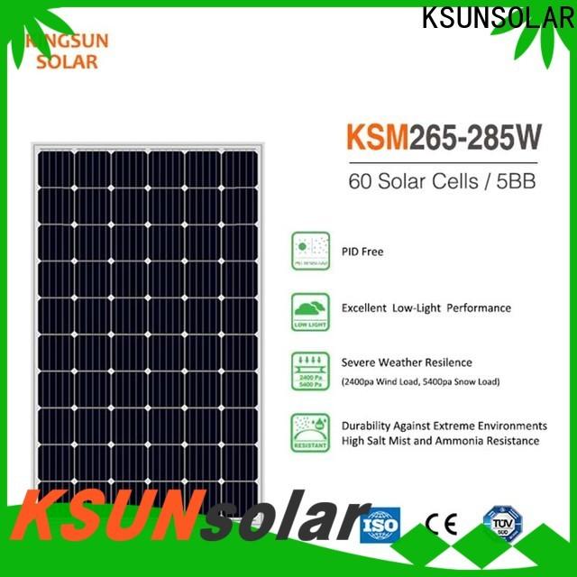KSUNSOLAR solar energy solar panels for business for powered by