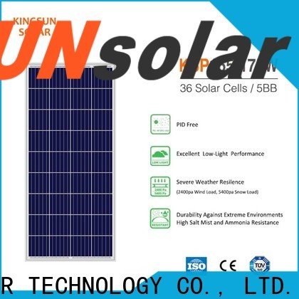 KSUNSOLAR Custom poly panel price company for Energy saving