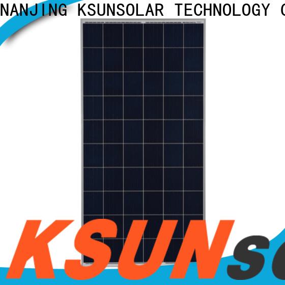 KSUNSOLAR Latest poly solar panels for sale company for Energy saving