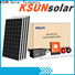KSUNSOLAR Latest grid-tied solar systems Supply for Environmental protection