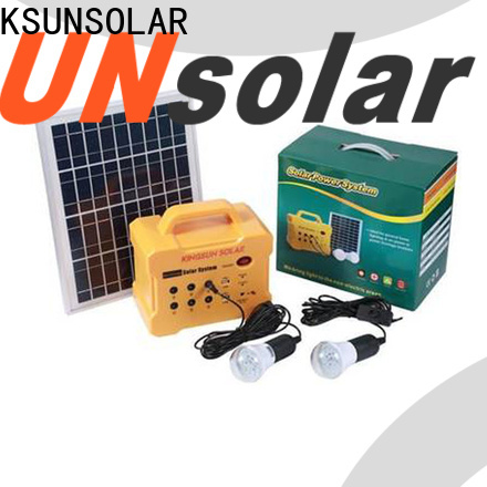 KSUNSOLAR Wholesale best solar equipment factory for Power generation