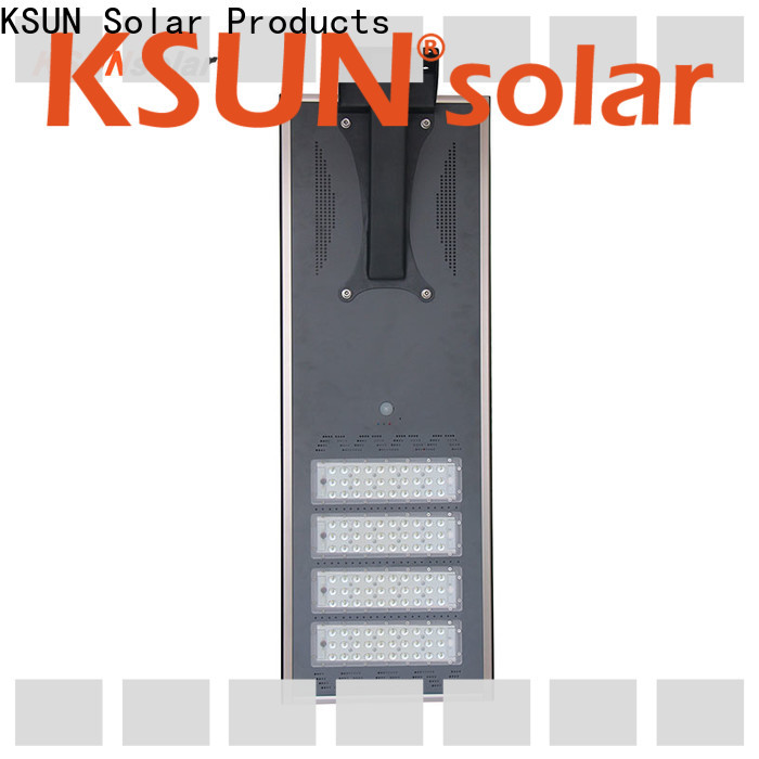 KSUNSOLAR Latest solar street light outdoor manufacturers for powered by