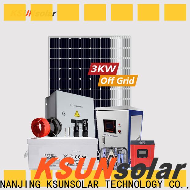 KSUNSOLAR Latest off grid solar power kits for Energy saving