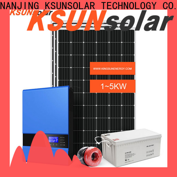 New best off grid solar power system company for Environmental protection