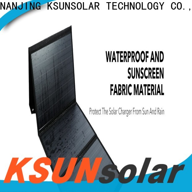 KSUNSOLAR Wholesale portable solar power charger for business for powered by