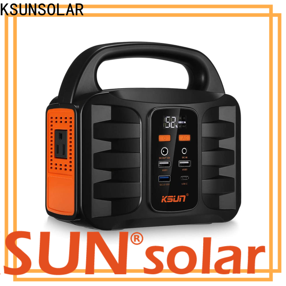 KSUNSOLAR Top portable rechargeable power supply for business for powered by
