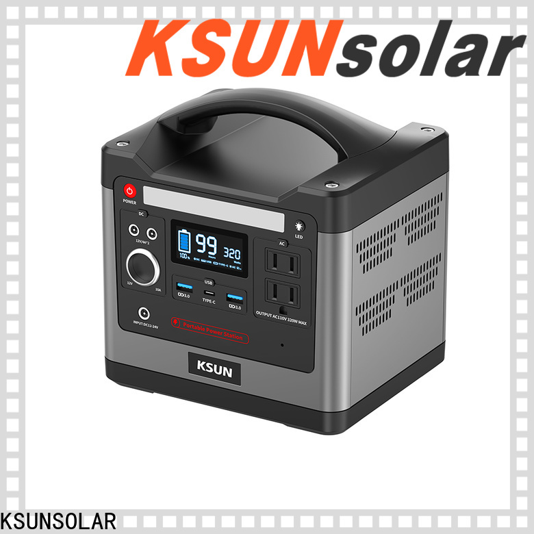KSUNSOLAR Latest portable solar bank for Environmental protection