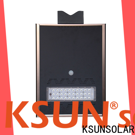 KSUNSOLAR Wholesale solar powered street light Supply for powered by