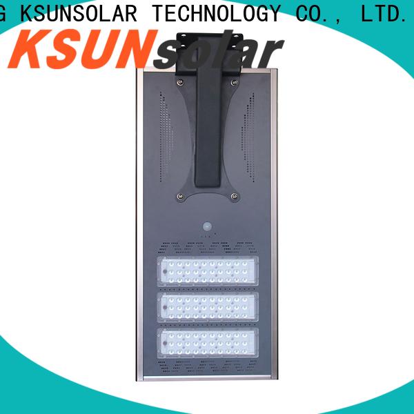 KSUNSOLAR solar powered street lamps manufacturers for Energy saving
