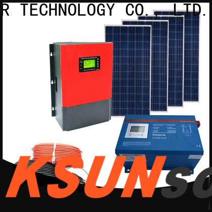 KSUNSOLAR solar equipment companies factory for Environmental protection