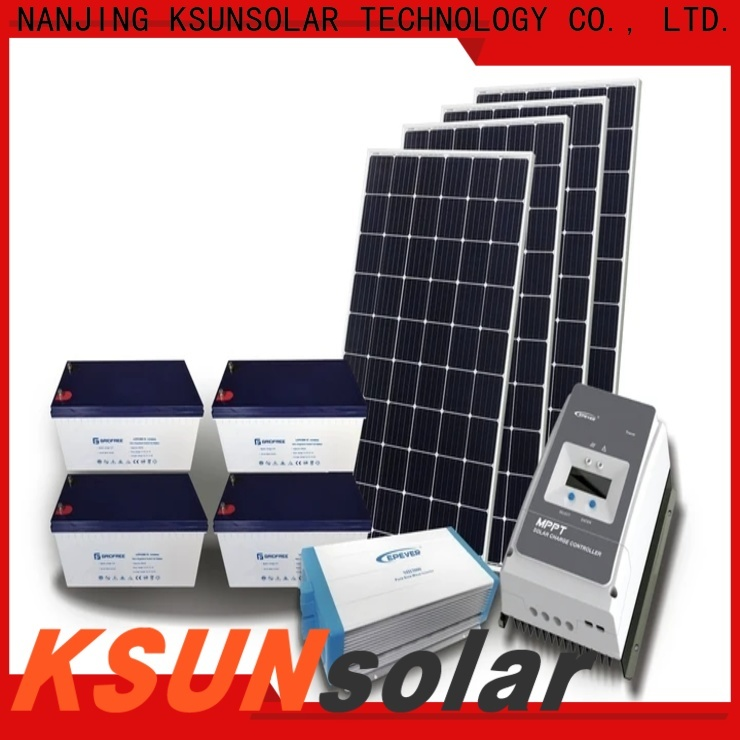 High-quality off grid solar panel kits factory for powered by