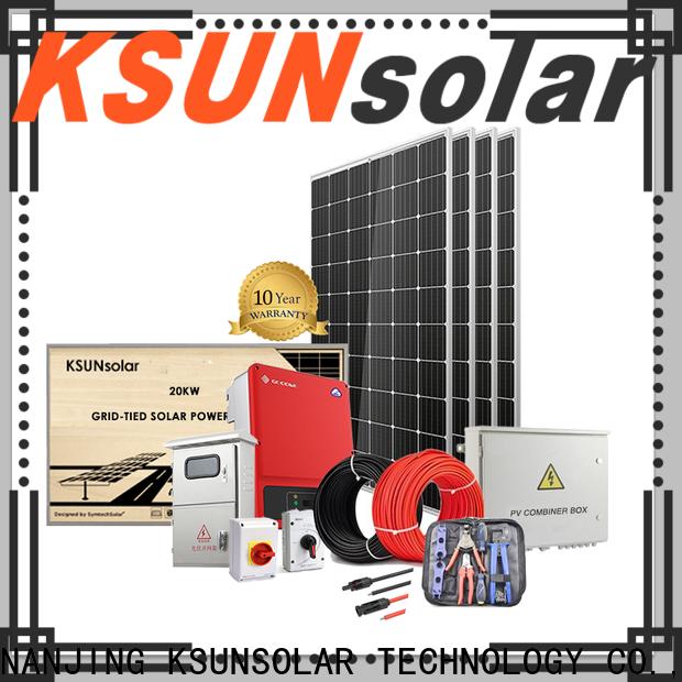 KSUNSOLAR solar equipment for sale Supply for Power generation