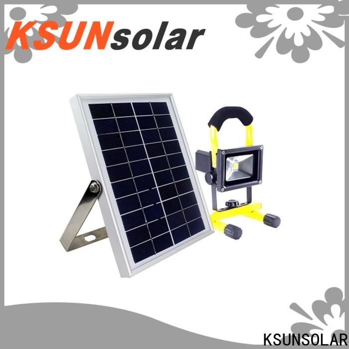 KSUNSOLAR light led solar for business for Energy saving