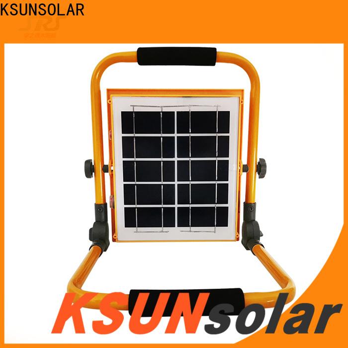 Custom best solar flood lights for Power generation