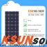 KSUNSOLAR mono silicon solar panels For photovoltaic power generation