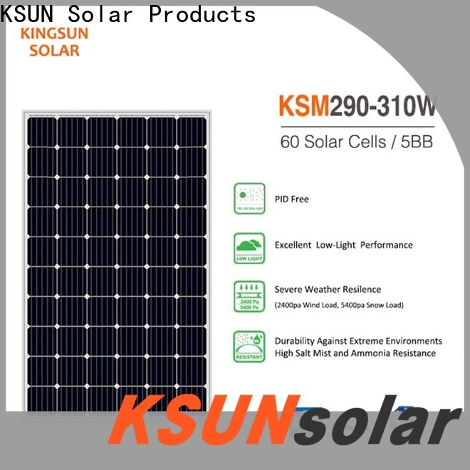 KSUNSOLAR solar module for Energy saving
