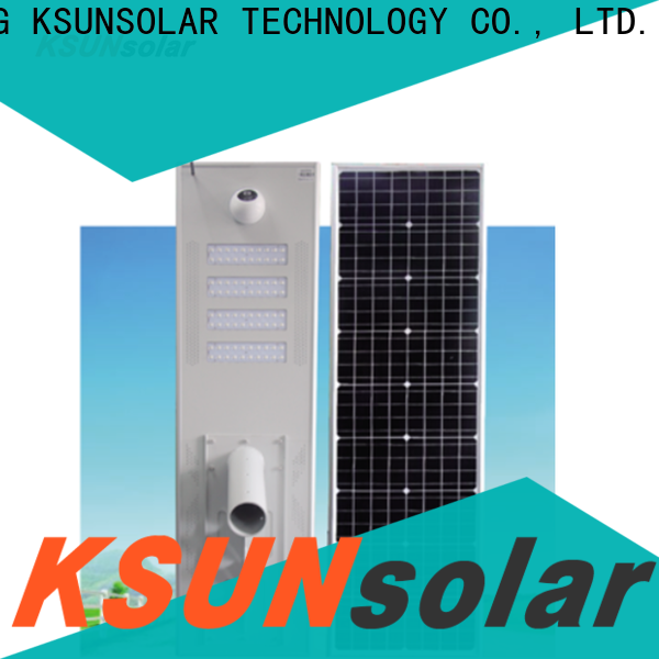KSUNSOLAR Custom solar street light benefits for business for powered by
