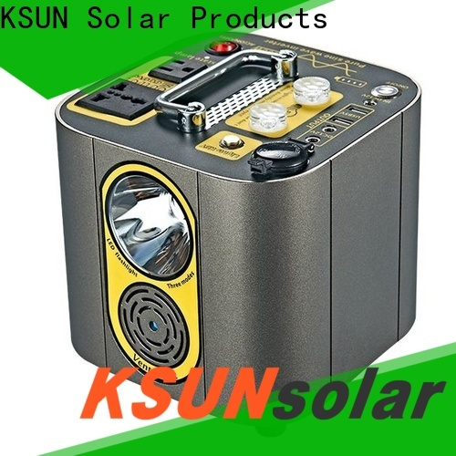 KSUNSOLAR best portable power station Suppliers for Environmental protection