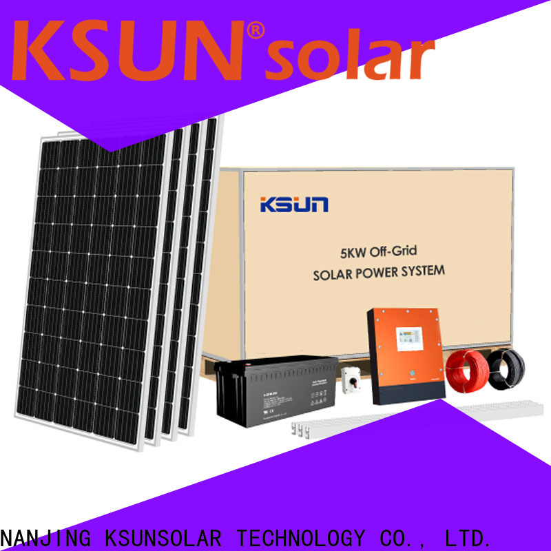 KSUNSOLAR High-quality solar equipment companies for business For photovoltaic power generation