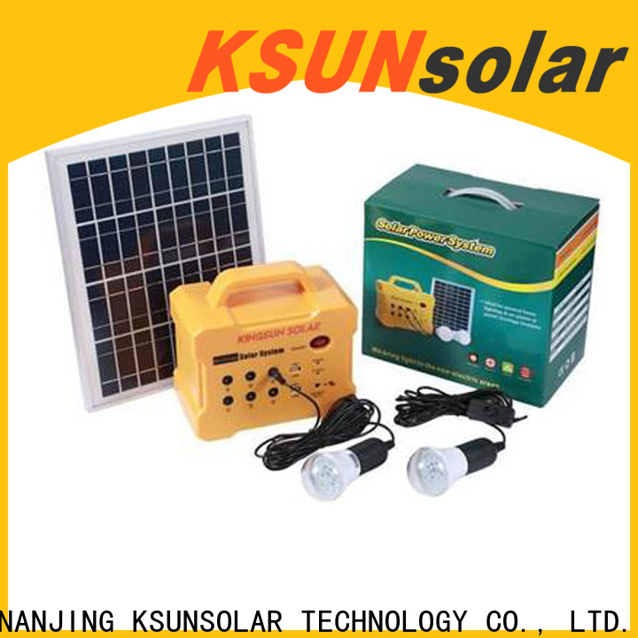KSUNSOLAR New portable power station best Supply For photovoltaic power generation