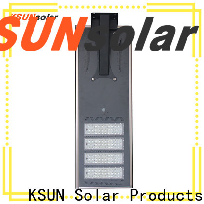 KSUNSOLAR solar powered street lights for sale factory for powered by