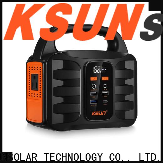 KSUNSOLAR portable power station for sale manufacturers for Energy saving