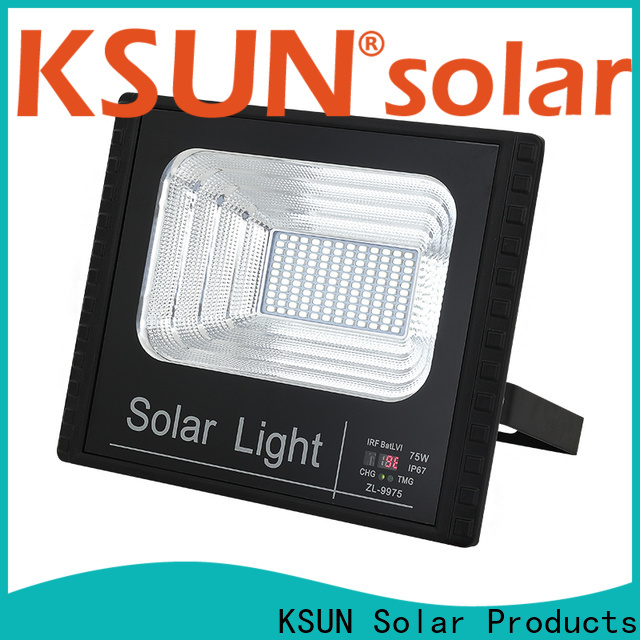KSUNSOLAR brightest solar flood lights outdoor Suppliers For photovoltaic power generation