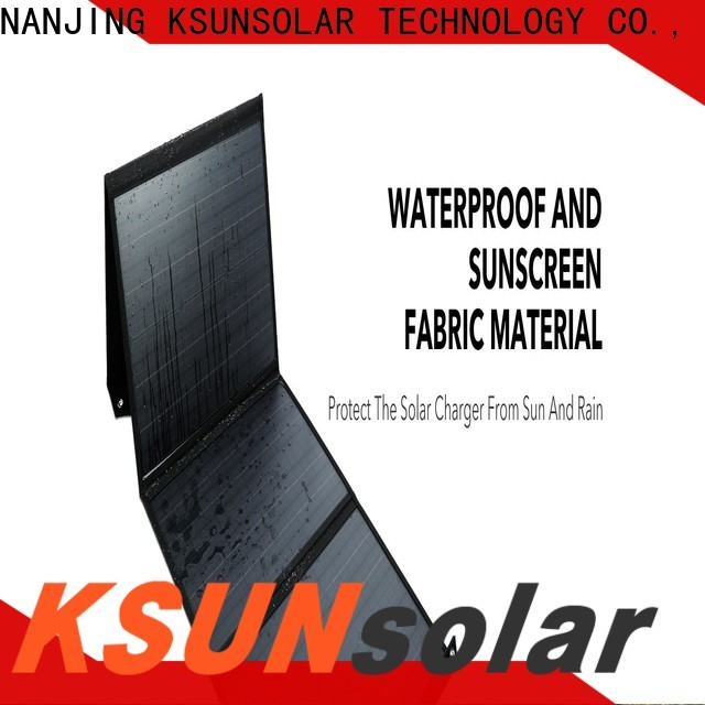 Custom portable fold up solar panels company for Power generation
