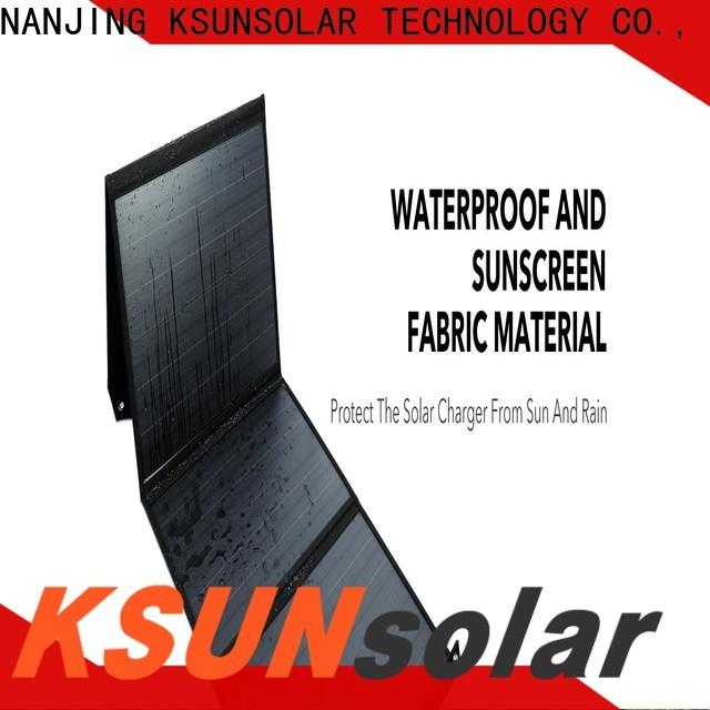 Custom portable fold up solar panels company for Power generation