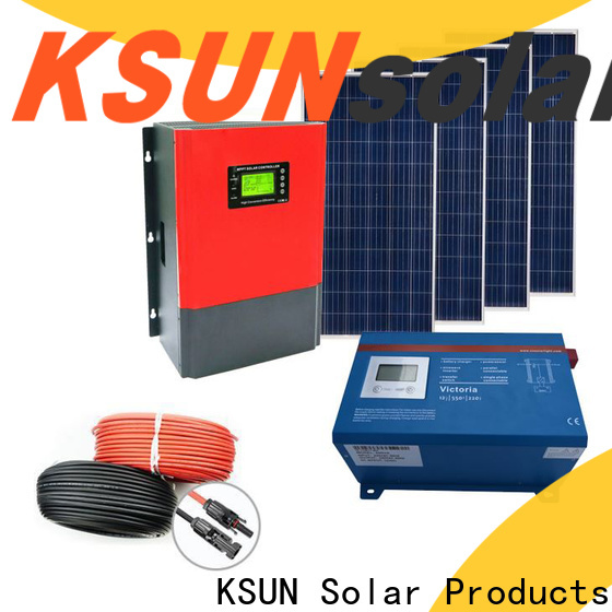 KSUNSOLAR Top solar power energy system Suppliers For photovoltaic power generation