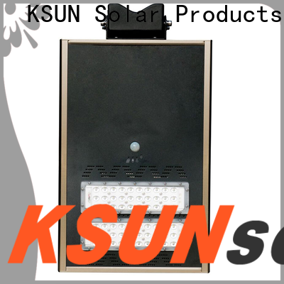 KSUNSOLAR Latest solar powered outdoor street lights Suppliers for powered by
