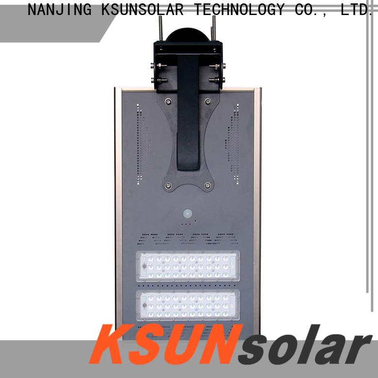 KSUNSOLAR Top solar powered street light Supply for Energy saving