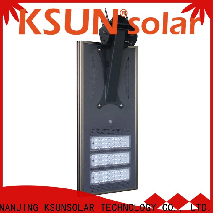 KSUNSOLAR solar street light price for business for Environmental protection
